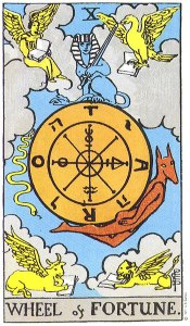 Wheel of Fortune #10 of the Major Arcana
